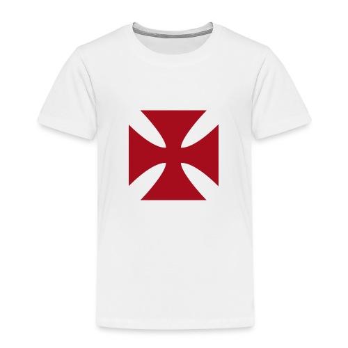 Cruz de malta - Camiseta premium niño