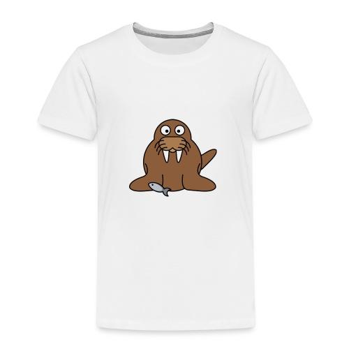 Walross2 - Kinder Premium T-Shirt