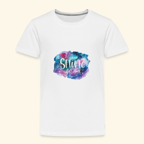 Galaxy shining for you - Camiseta premium niño