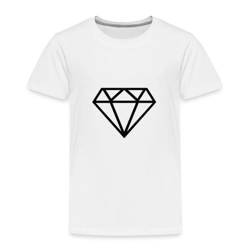 Diamante transparente - Camiseta premium niño