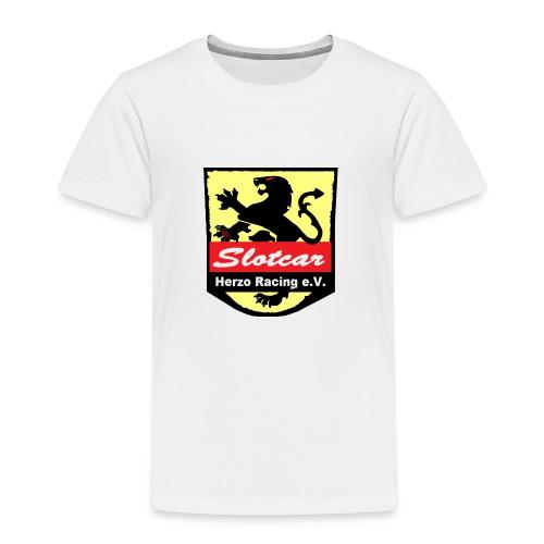 HR Logo Schwarz (für alle Hintergründe) - Kinder Premium T-Shirt