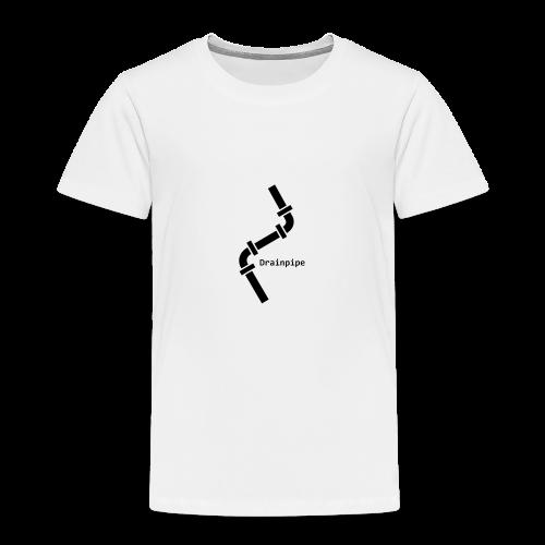 Drainpipe Logo - Kids' Premium T-Shirt