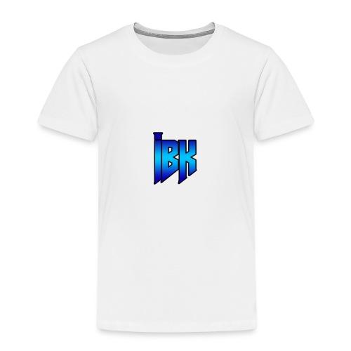 T-SHIRT MET LOGO OP - Kinderen Premium T-shirt