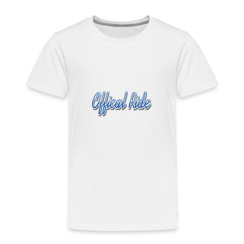 Offical Ride - Kinder Premium T-Shirt