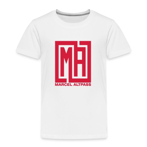 Marcel Neu neu Schwarz Einfach - Kinder Premium T-Shirt