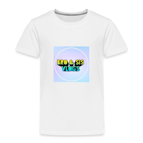 Bro & sis vlogs merch - Kids' Premium T-Shirt