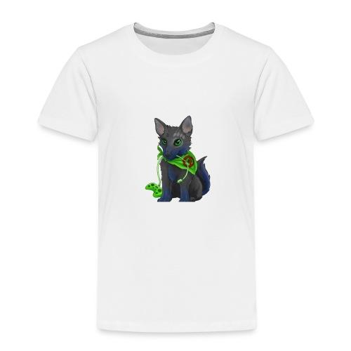 Wolfie Plays Gaming - Kids' Premium T-Shirt