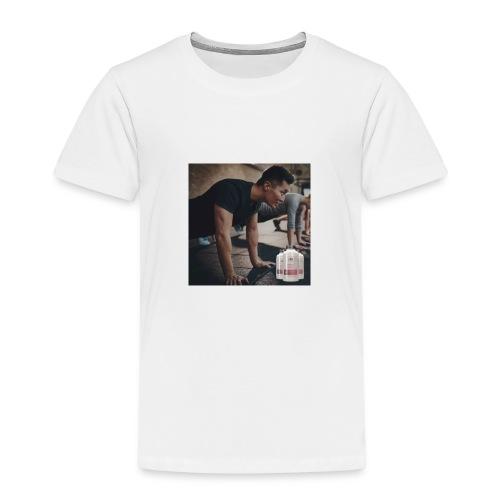 Nutraburst cuerpo sano mente sana - Camiseta premium niño