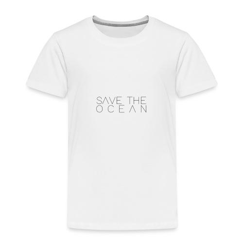 Save The Ocean - Premium-T-shirt barn