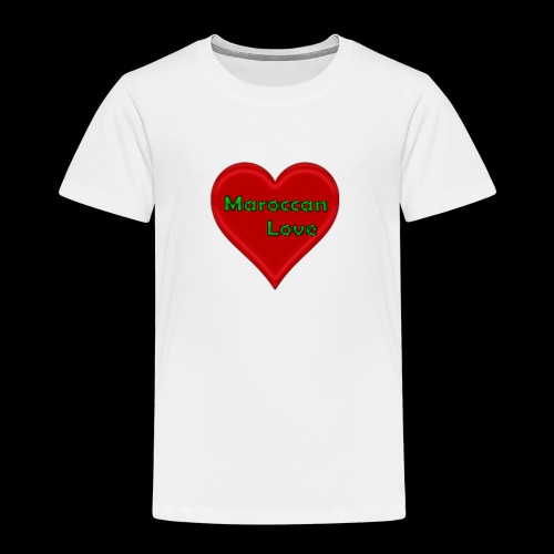 Maroccan_Love Original - Kinder Premium T-Shirt
