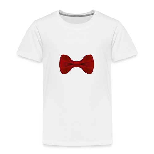 Nœud Papillon Rouge uni - T-shirt Premium Enfant