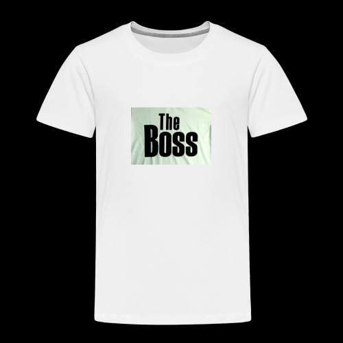the boss - Kids' Premium T-Shirt