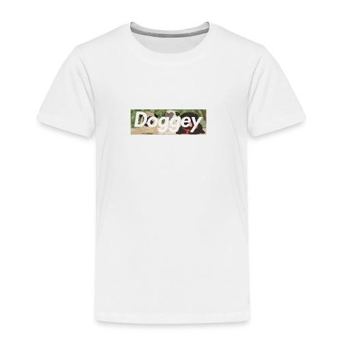 Doggey Pug Box Logo - Kids' Premium T-Shirt