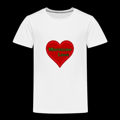 Maroccan_Love Original - Kinder Premium T-Shirt