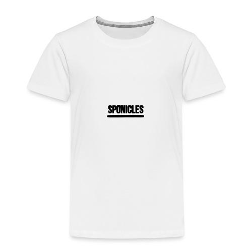 Sponicles Signature Design! - Kids' Premium T-Shirt