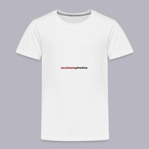 ecclesiophobia napis - Koszulka dziecięca Premium