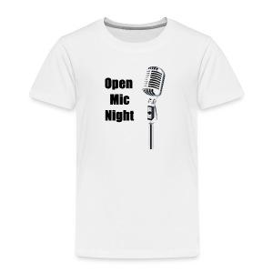Open Mic Night - Kids' Premium T-Shirt