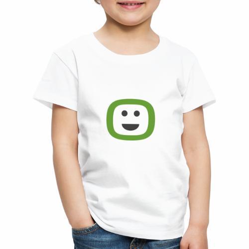 ZAIDOO - Den Tag mit einem Lächeln beginnen :) - Kinder Premium T-Shirt