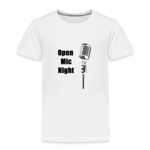 Open Mic Night - Kids' Premium T-Shirt