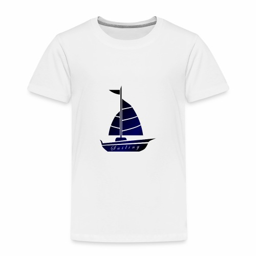 Segeln Ahoi Hamburg Nordsee - Kinder Premium T-Shirt