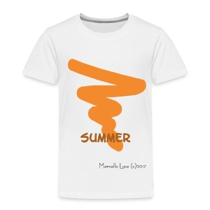 Streetworker Art by Marcello Luce - Summer 2017 - Kinder Premium T-Shirt