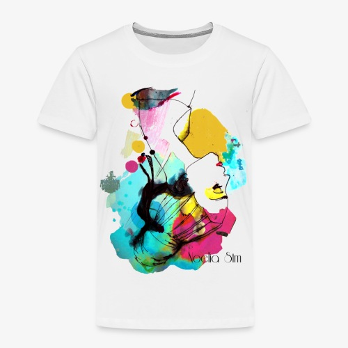 colour woman - Camiseta premium niño