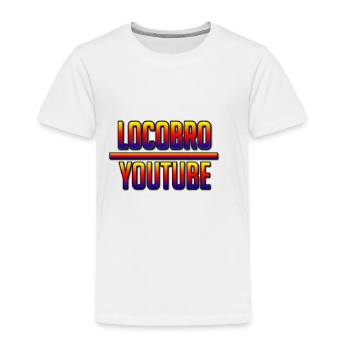 LoCoBrO youtube - Kids' Premium T-Shirt