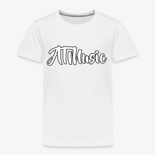 ATMusic T-Shirt White - Premium T-skjorte for barn
