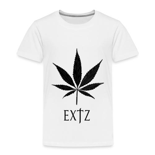 Vetement Marque EXTZ Feuille De Canabis Noir. - T-shirt Premium Enfant