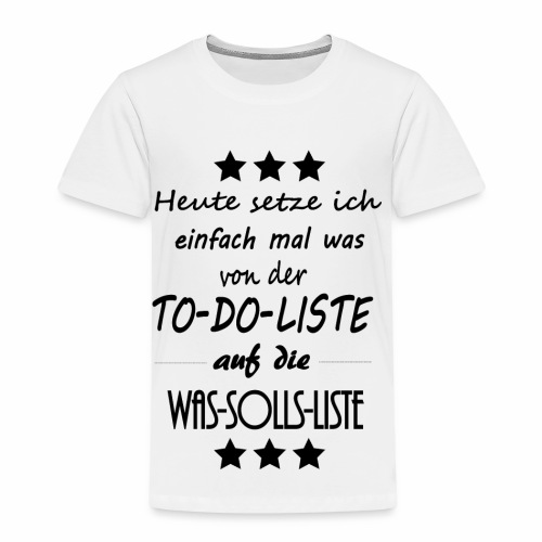 Was solls Spruch - Kinder Premium T-Shirt