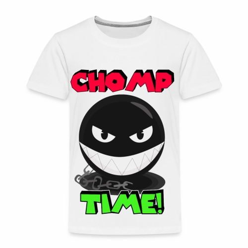 Chomp time - Camiseta premium niño
