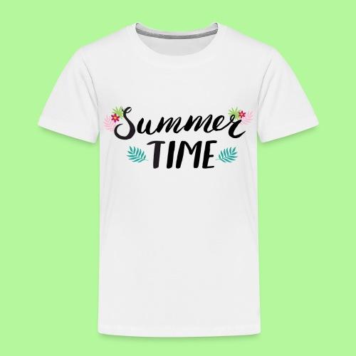 Summer Time Black & White - Kids' Premium T-Shirt