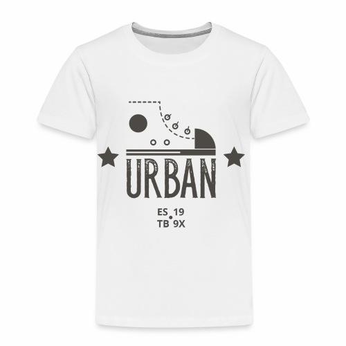 URBAN SNEAKER - Sportler Turnschuh Sport Shirt - Kinder Premium T-Shirt