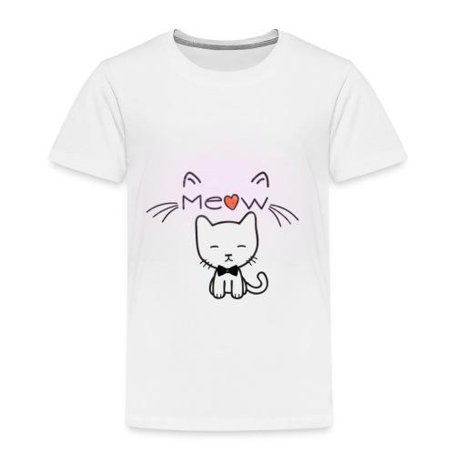 Motif chat - T-shirt Premium Enfant