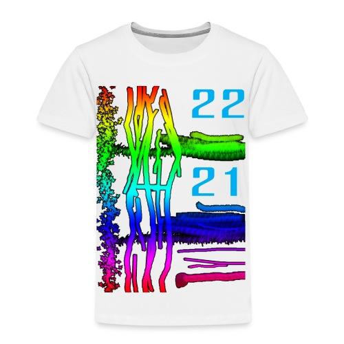 Décor sous marin de couleur très vive - T-shirt Premium Enfant