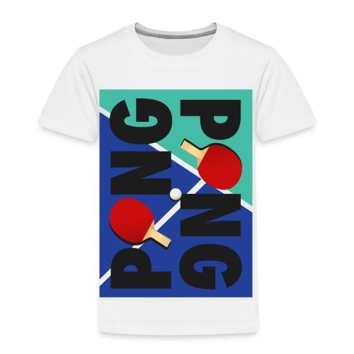 Ping Pong Sport Love - Kinder Premium T-Shirt