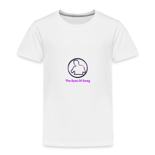 Galaxy Logo - Kids' Premium T-Shirt