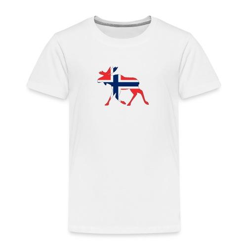 Norwegen Elch - Kinder Premium T-Shirt