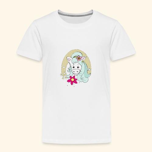 Eseldame Elsa No.2 - Kinder Premium T-Shirt