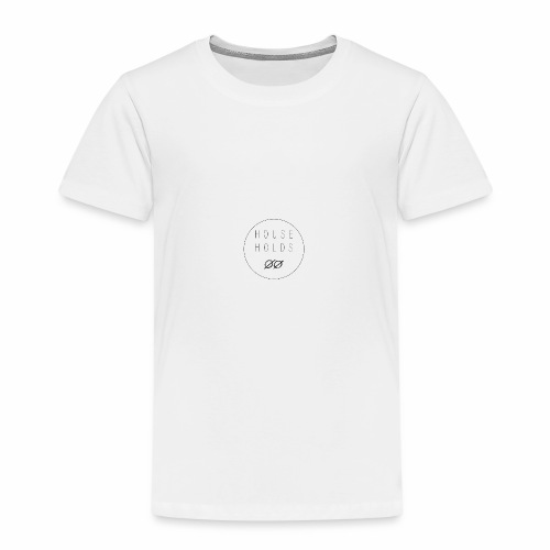 Households logo - Premium-T-shirt barn