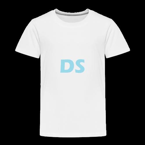 Drone Spotters logo blauw - Kinderen Premium T-shirt
