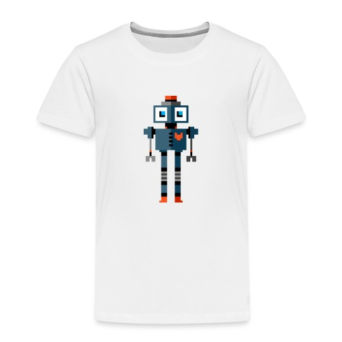 Blue Robot - Kids' Premium T-Shirt