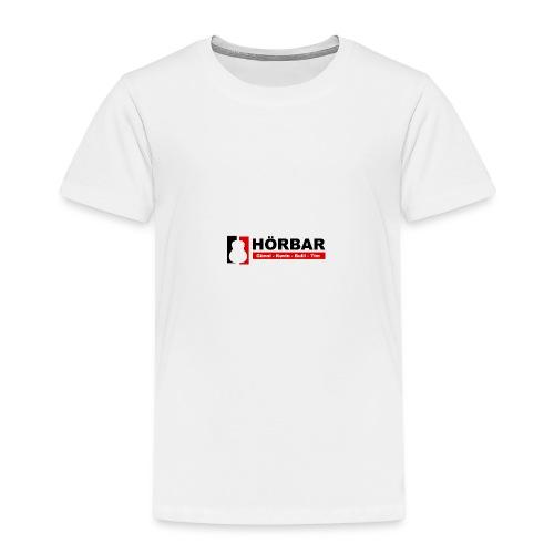 Hörbar mit Namen - Kinder Premium T-Shirt