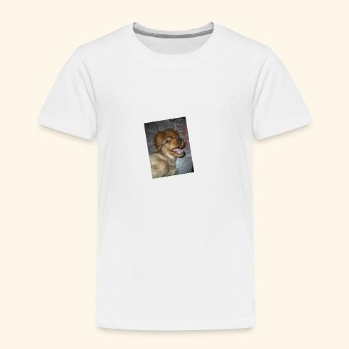 snäll hunden - Premium-T-shirt barn