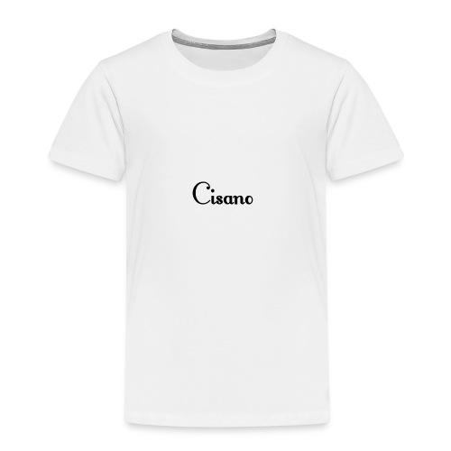 Cisano skrift - Premium T-skjorte for barn