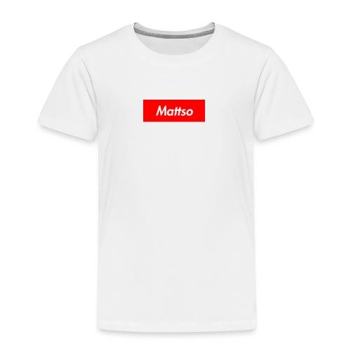 Mattso Merch to Flex - Kids' Premium T-Shirt