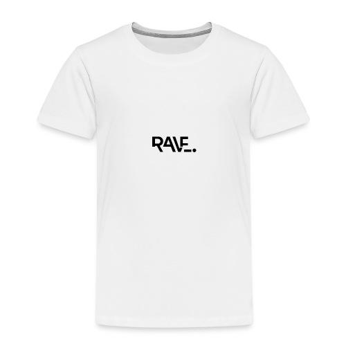 RAVE ClothingBlackLogo - Kids' Premium T-Shirt