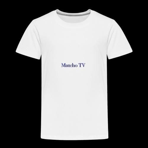 Matcho TV - Kinder Premium T-Shirt