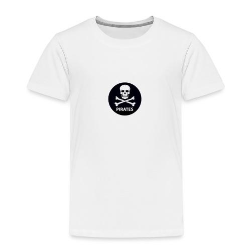 skull-and-bones-pirates-jpg - Kinderen Premium T-shirt