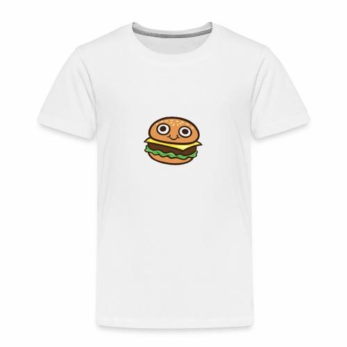 Burger Cartoon - Kinderen Premium T-shirt